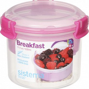 Sistema Breakfast To Go Eväsrasia 530 Ml
