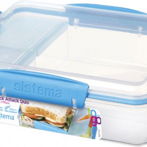 Sistema Snack Attack Duo To Go Eväsrasia 975 Ml