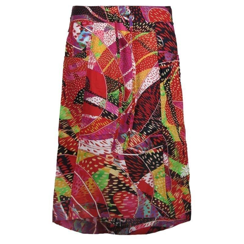 Skhoop Jill Long Skirt S Orange