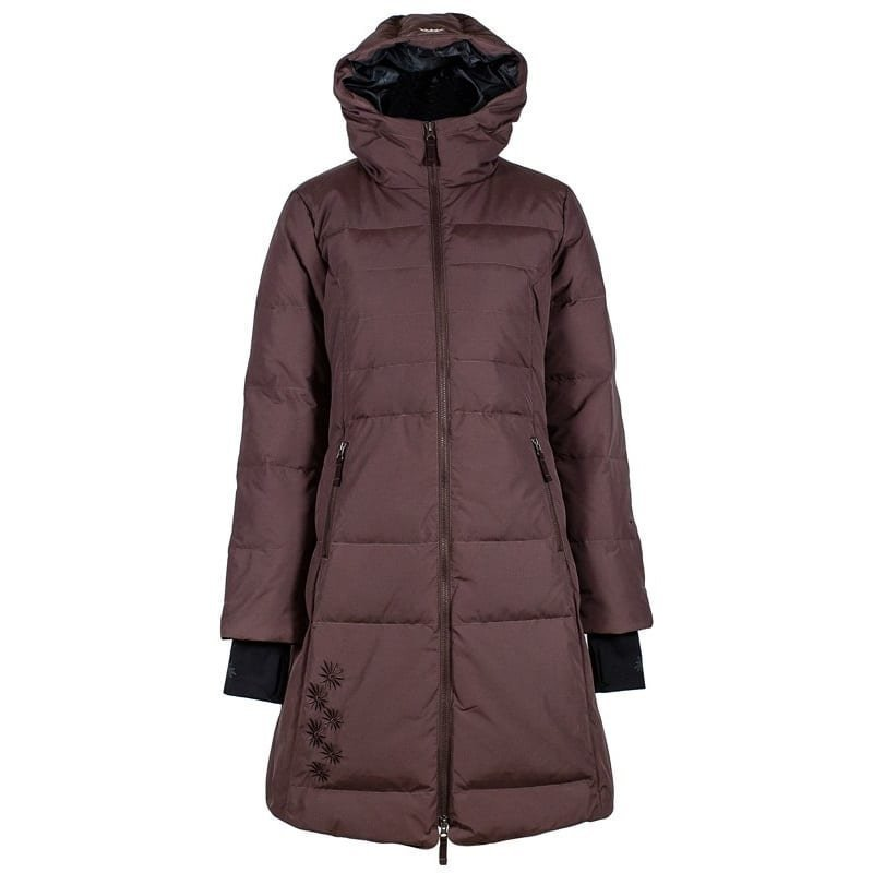 Skhoop Long Down Jacket L French Roast