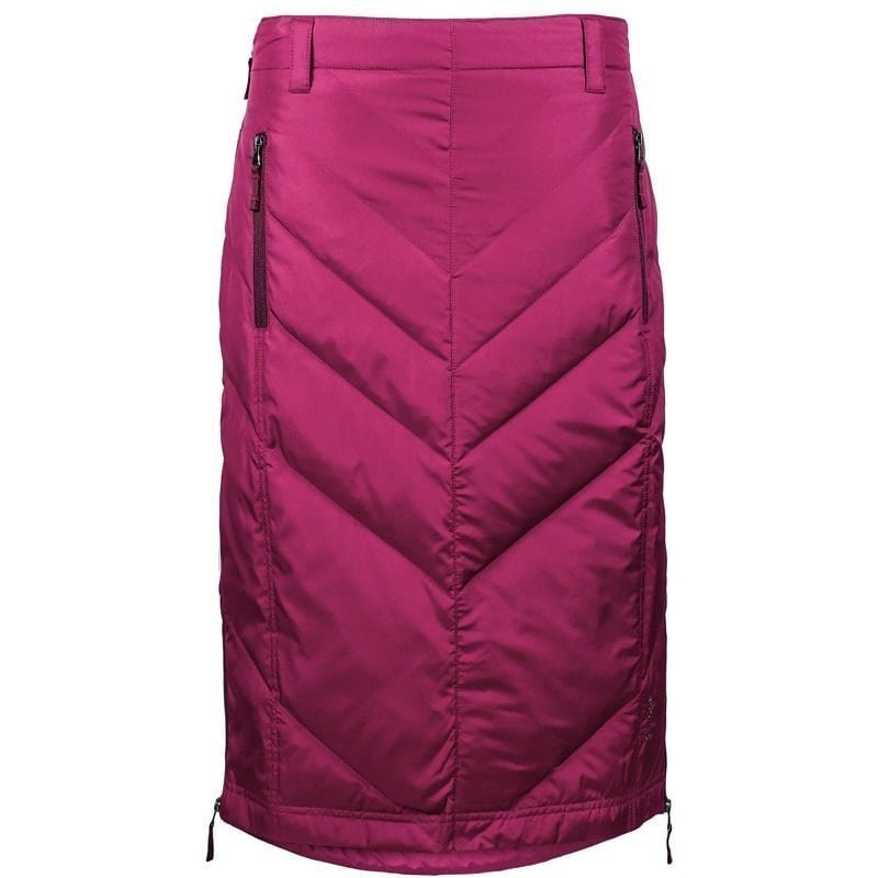 Skhoop Mina Mid Down Skirt L Beet Red