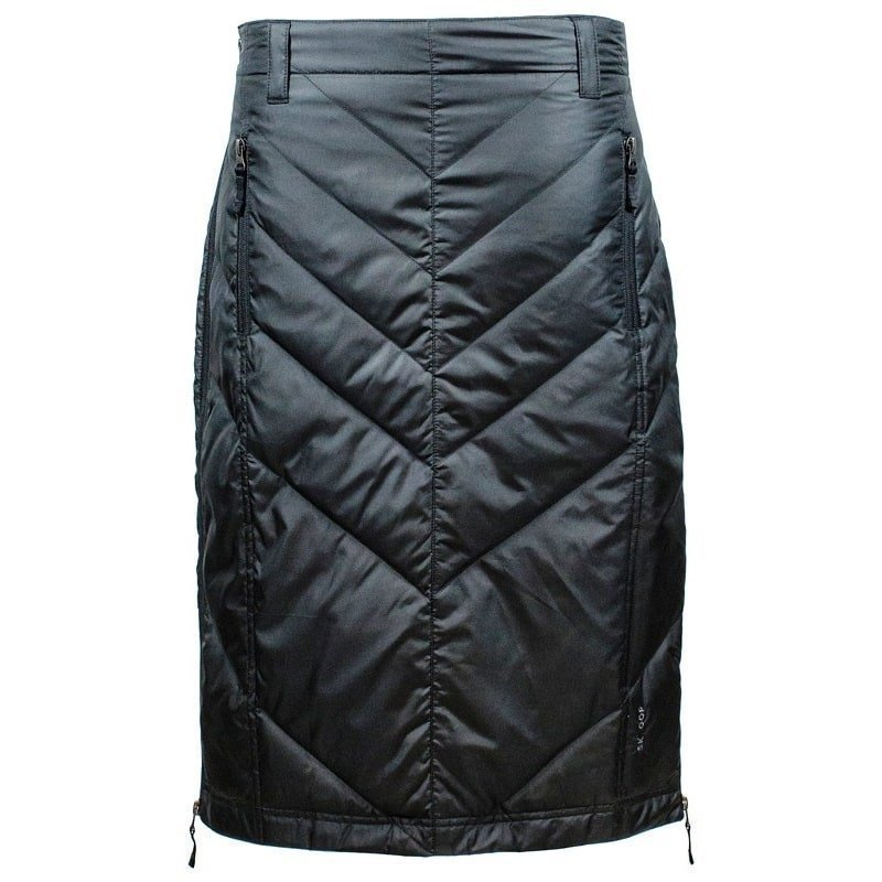 Skhoop Mina Mid Down Skirt L Black