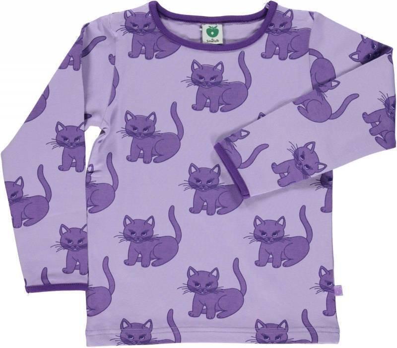 Småfolk Cat LS Lila 4-5