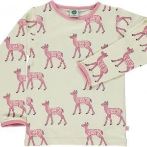 Småfolk Deer LS Cream 3-4