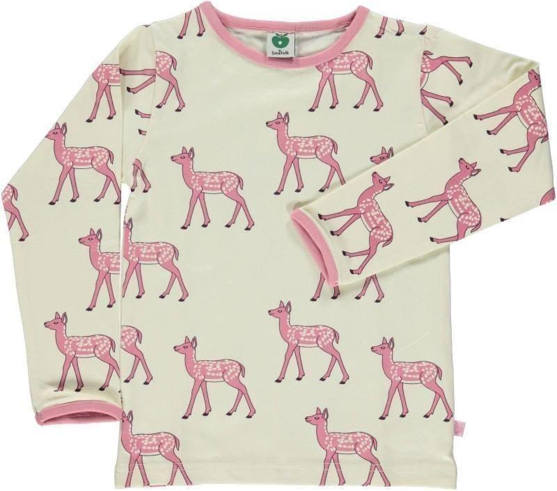 Småfolk Deer LS Cream 3-4