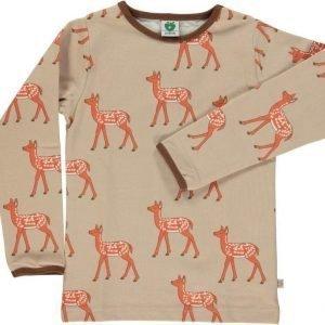 Småfolk Deer LS Sand 3-4