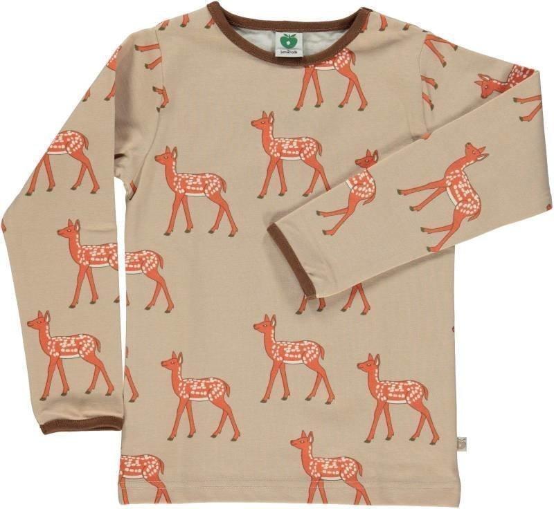 Småfolk Deer LS Sand 7-8