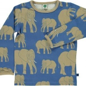 Småfolk Elefant LS Sininen 3-4