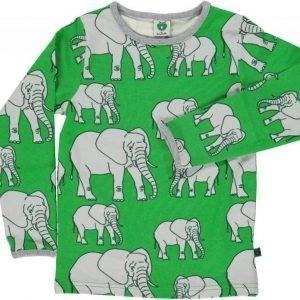Småfolk Elefant LS Vihreä 1-2