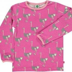Småfolk Ostrich LS Pink 3-4
