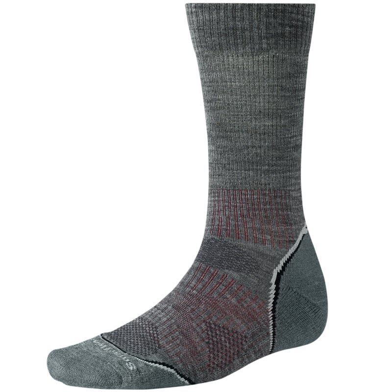 Smartwool M PhD Outdoor Light Crew M (38-41) Med Grey