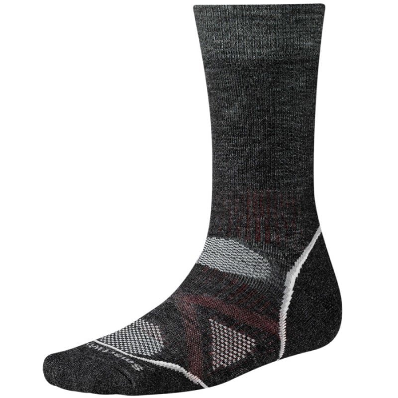 Smartwool Men's Phd Outdoor Medium Crew XL (>45) Charcoal