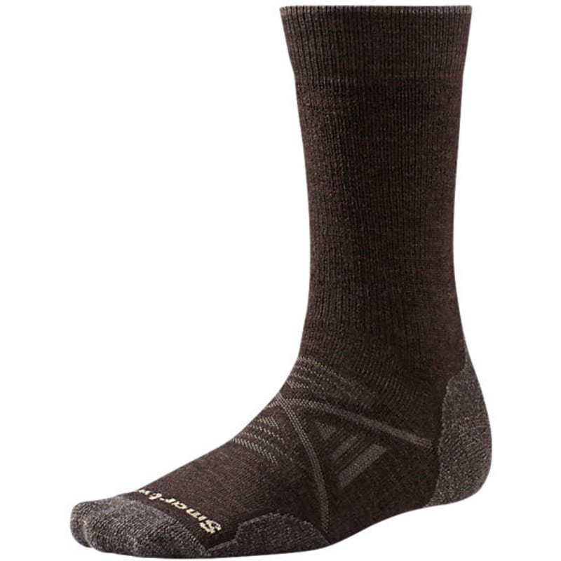 Smartwool Men's Phd Outdoor Medium Crew XL (>45) Chestnut