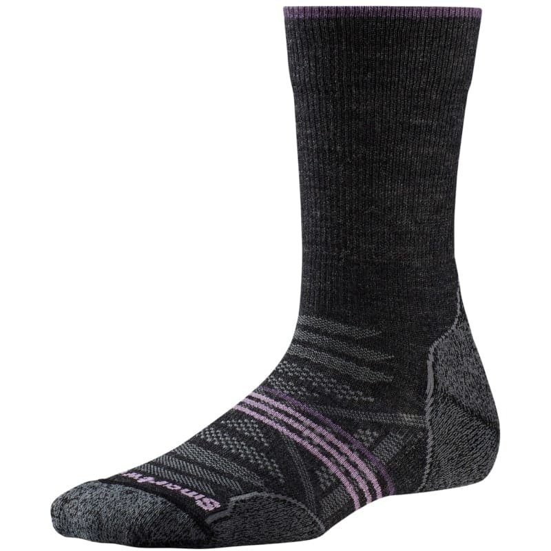 Smartwool W PhD Outdoor Medium Crew 34 Med Grey