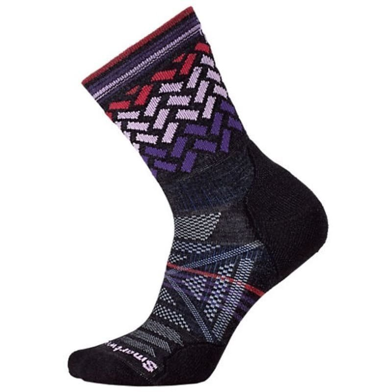 Smartwool Women's PhD Outdoor Light Crew S (34-37) Charcoal