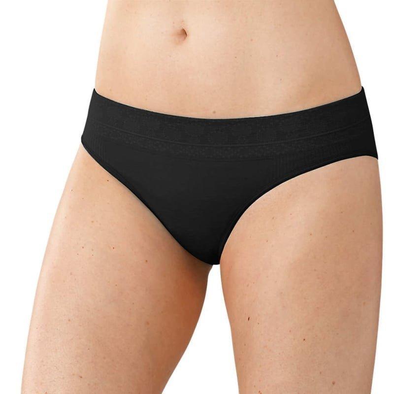 Smartwool Women's PhD Seamless Bikini L Black