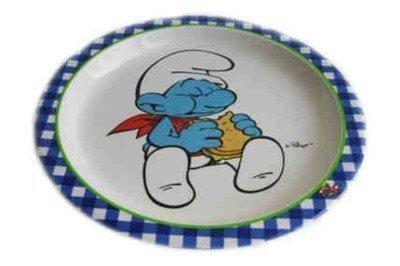 Smurffit lautanen sininen