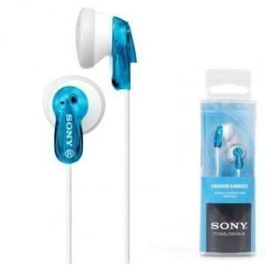 Sony MDR-E 9 LPL sininen-transparent