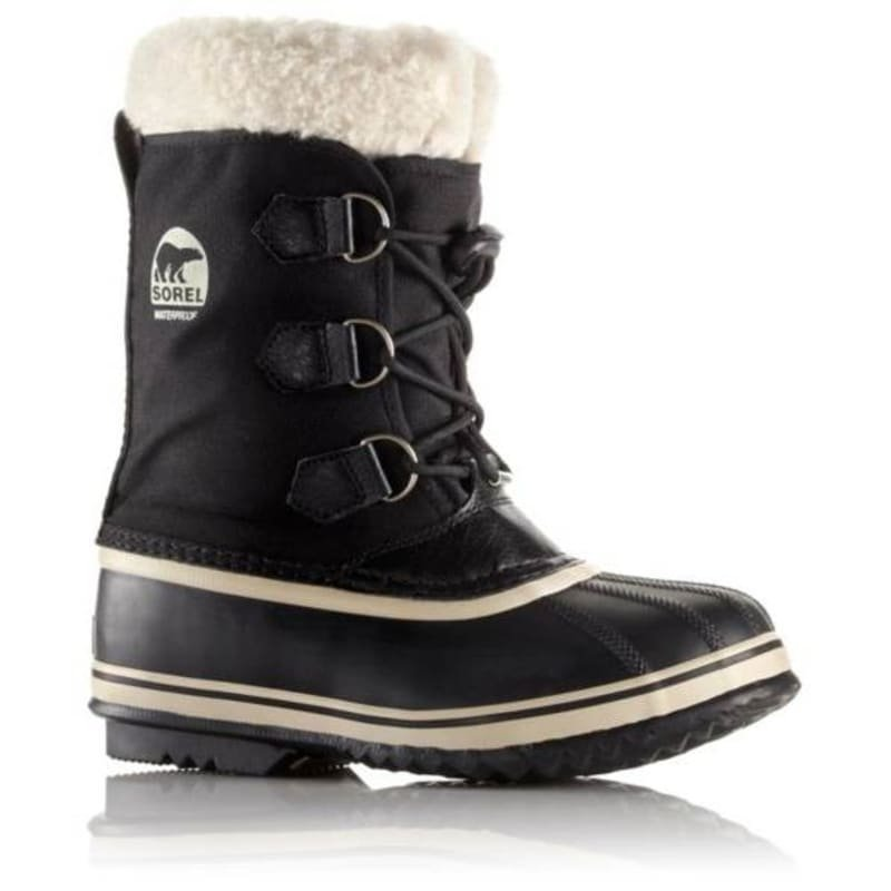 Sorel Childrens Yoot Pac Nylon US10 / EU27 Black