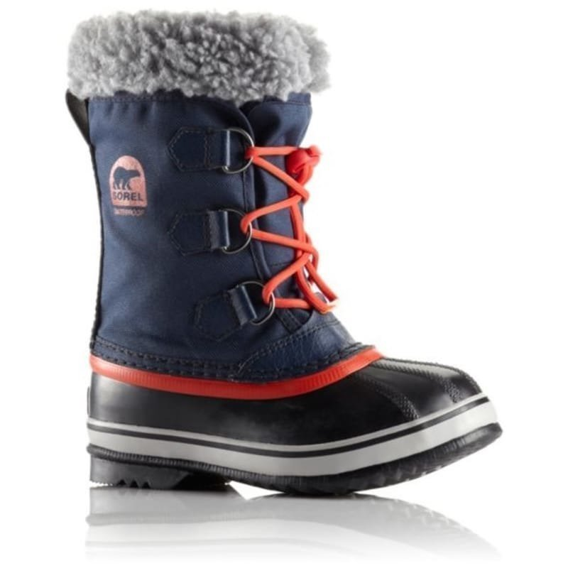 Sorel Childrens Yoot Pac Nylon US13 / EU31 Collegiate Navy/Sail Red