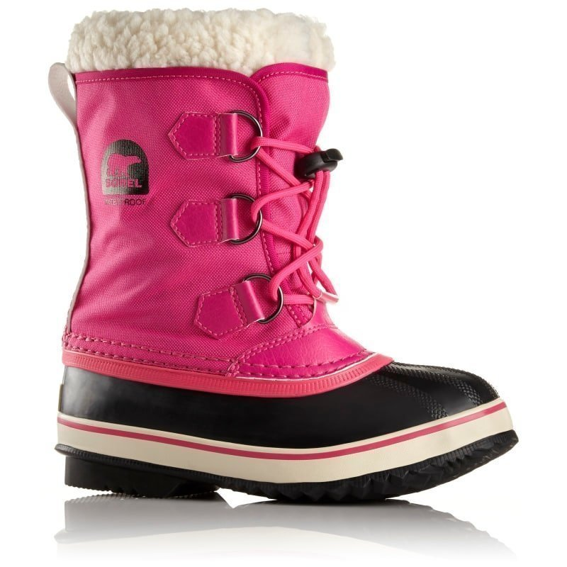 Sorel Childrens Yoot Pac Nylon US13 / EU31 Haute Pink