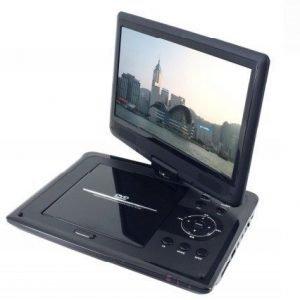 Soundmaster matkatelevisio DVD soittimella ja akulla