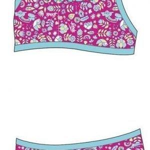 Speedo 2-Piece tots tyttöjen uimapuku pinkki/sininen