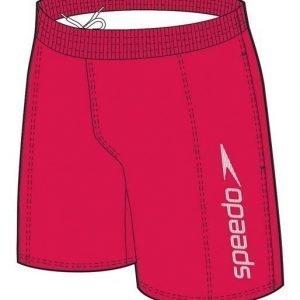 """Speedo Challence 15"""" Watershort poikien uimahousu punainen/valkoinen"""
