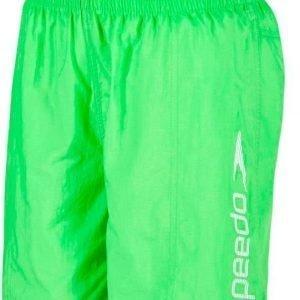 """Speedo Challence 15"""" Watershort poikien uimahousu vihreä/valkoinen"""