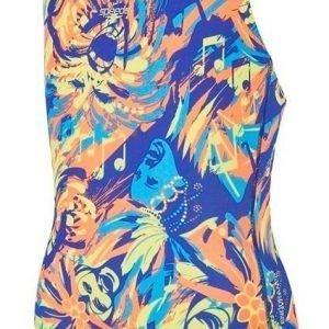 Speedo Colour Koleido Allover Splashback kids swimsuit