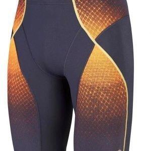 Speedo Fit Pinnacle Jammer M naisten uimahousut harmaa / oranssi