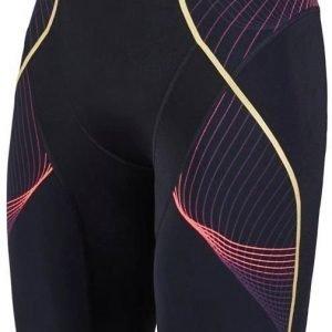 Speedo Fit Pinnacle Jammer M naisten uimahousut musta / punainen