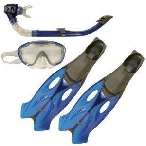 Speedo Glide snorkkelisetti (sis räpylät)