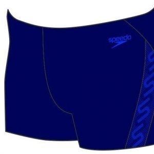 Speedo Monogram Aquashort poikien uimahousu tummansininen/sininen