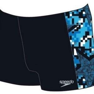 Speedo Panel Aquashort poikien uimahousu ArrowJet.musta/sininen