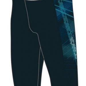 Speedo Panel Jammer poikien uimahousu Aquasprint.musta/sininen