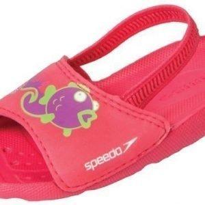 Speedo Sea Squad Slide pinkki Kid sandaali