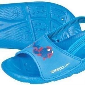 Speedo Sea Squad Slide sininen Kid sandaali