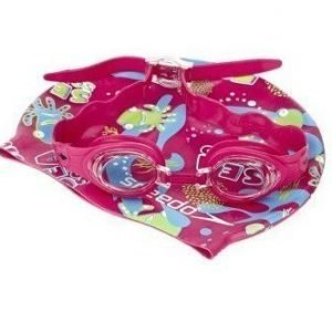 Speedo Sea Squad Swim Set pinkki