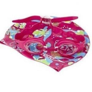 Speedo Sea Squad Swim Set pinkki