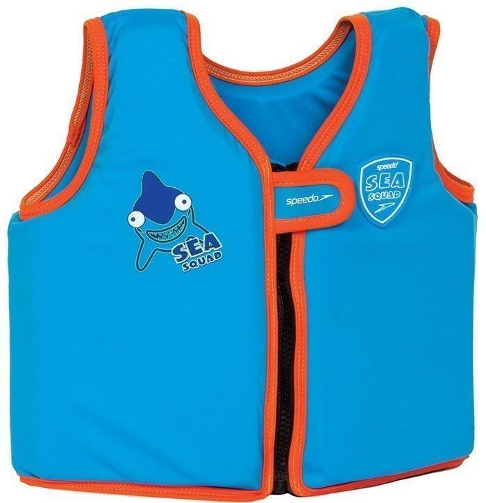 Speedo Sea Squad kelluntaliivi sininen/oranssi