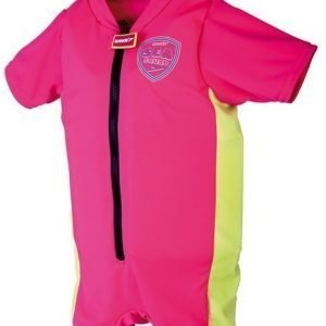Speedo Sea squad float suit pinkki