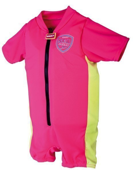 Speedo Sea squad float suit pinkki