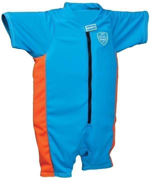 Speedo Sea squad float suit sininen/oranssi