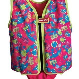 Speedo Sea squad swim vest pinkki