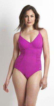 Speedo Spashine 1p naisten uimapuku pinkki