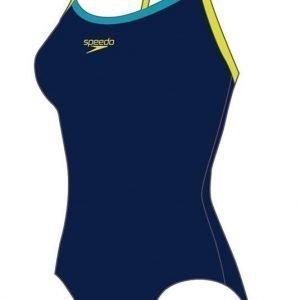 Speedo Thinstrap naisten uimapuku t.sininen/vihreä