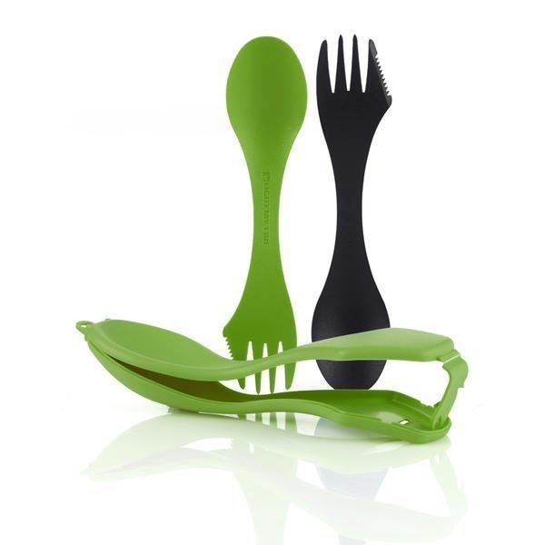 Sporks´n Case black+green