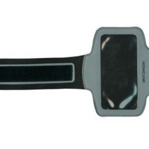Sport Armband käsivarsikotelo älypuhelimelle hopea