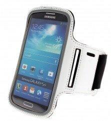 Sport Armband käsivarsikotelo älypuhelimelle valkoinen